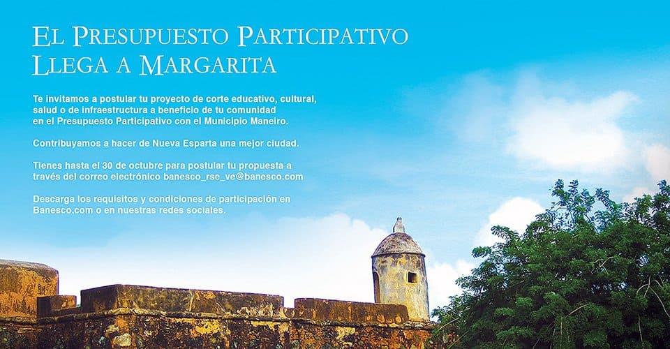 Presupuesto Participativo Margarita