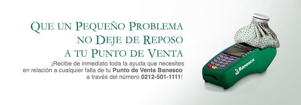 Comercios con puntos de venta Banesco recibirán atención inmediata vía telefónica