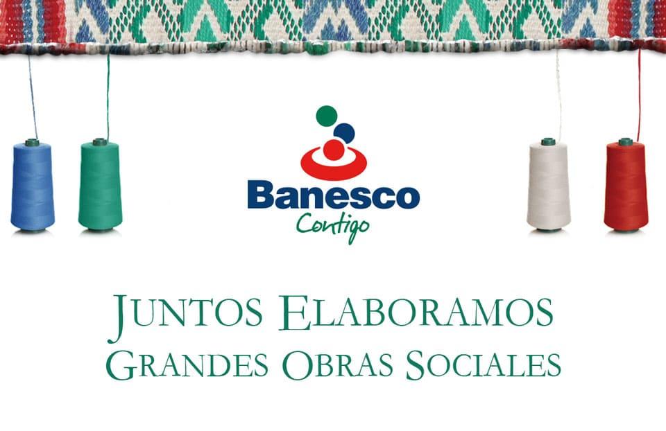 Inversión social de Banesco ascendió a Bs. 137,43 millones en el primer trimestre