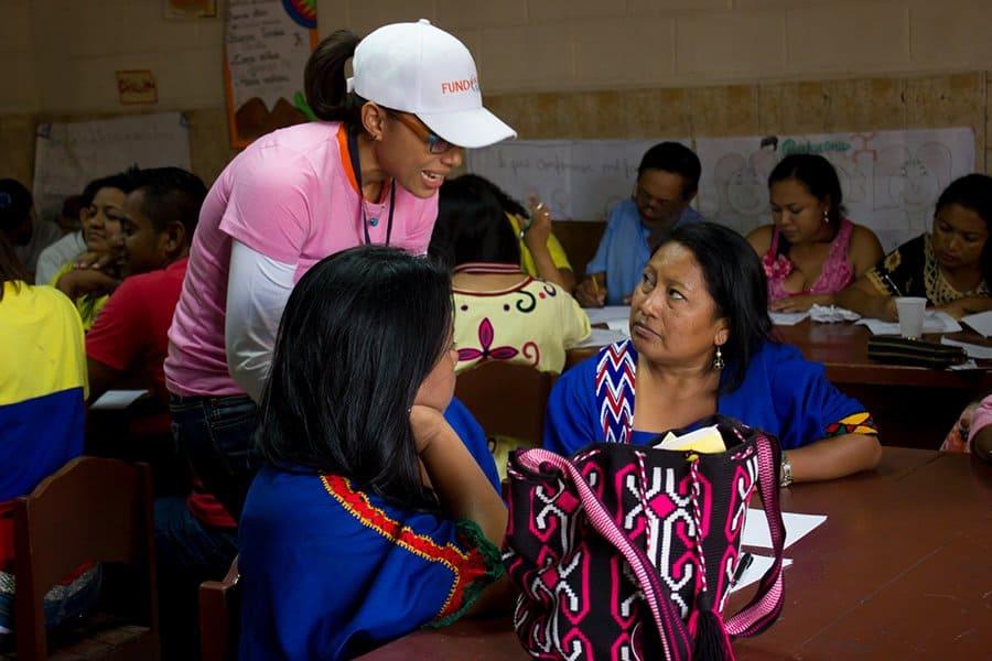 Banesco ofreció el Programa de Microempresarios a unos 250 emprendedores de la etnia wayúu