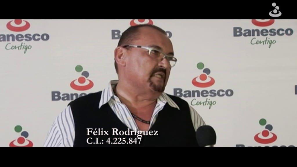 Félix Rodríguez pagó puntualmente su tarjeta de crédito Banesco y ganó