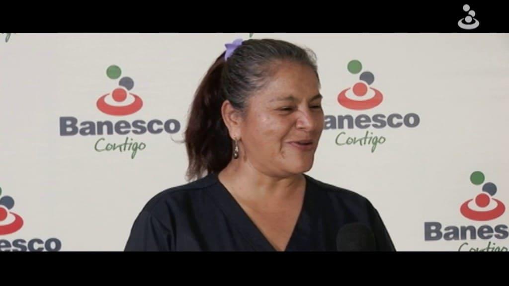 Mirla Oviedo ganó reintegros con su tarjeta de crédito Banesco