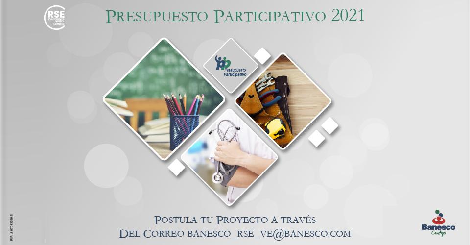 presupuesto participativo 2021