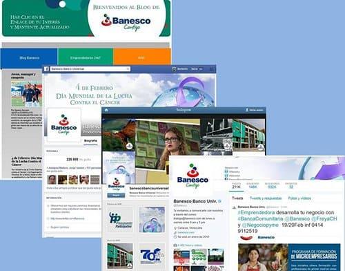 Banesco atendió más de 53.000 casos a través de sus redes sociales