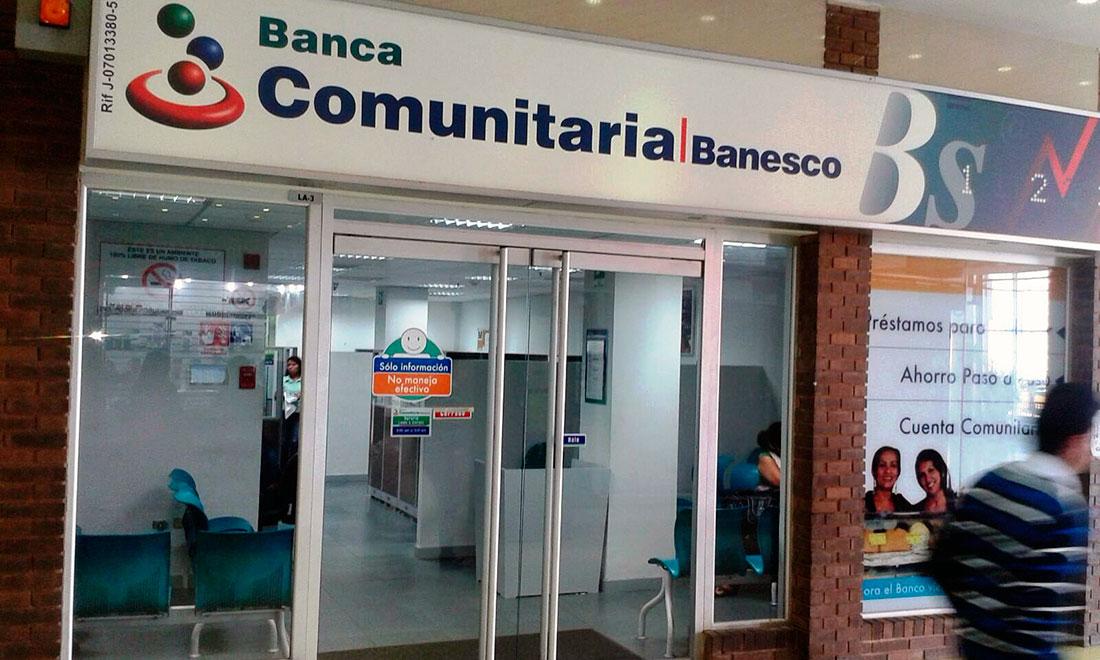 Banca Comunitaria Banesco otorga microcréditos